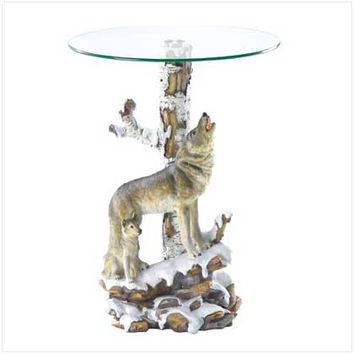 Wolf Table W-glass Tabletop