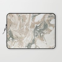 Marble Stone Laptop Sleeve by allisone