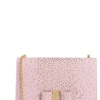 Salvatore Ferragamo 'Miss Vara - Twinkle Fashion Show Collection' Leather Clutch | Nordstrom