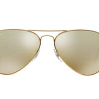 NEW SUNGLASSES RAY-BAN  AVIATOR  58  MEDIUM RB3025 in Gold