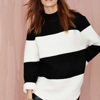 UNIF Bobbie Striped Sweater