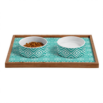 Lisa Argyropoulos Diamonds Are Forever Aquatic Pet Bowl and Tray