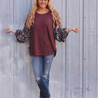 Perfectly Posh- Ribbed Knit Sweater