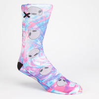 Odd Sox Aliens Mens Crew Socks Multi One Size For Men 26136795701