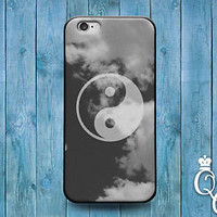 Custom Cool Mist Cloud Ying Yang Case Cute Cover iPod iPhone Phone Guy Girl Fun