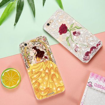 Caseier Diamond Phone Case For iPhone 6 6s 5 5s SE Cases Bling Soft Silicone Cover For iPhone 6s Plus Funda Capinha Capa Shell