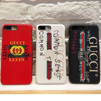 Gucci 2017 Hot ! iPhone 8 iPhone 8 plus - Stylish Cute On Sale Hot Deal Apple Matte Couple Phone Case For iphone 6 6s 6plus 6s plus iPhone 7 iPhone 7 plus