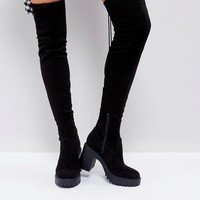 ASOS KICK UP Chunky Over The Boots at asos.com