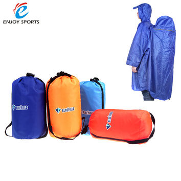 Backpack Cover One-piece Raincoat Poncho Rain Cape Outdoor Hiking Camping Raincoat Jackets Unisex