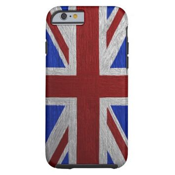 Painted Union Jack Tough iPhone 6 Case