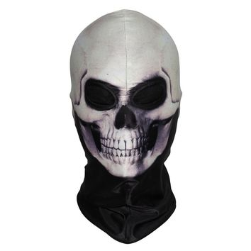 New 3D Skeleton Masks Scary Skull Ghost Tactical Halloween Costume Paintball Hats Face Mask