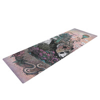 "Mat Miller ""Land of The Sleeping Giant"" Panda Yoga Mat"