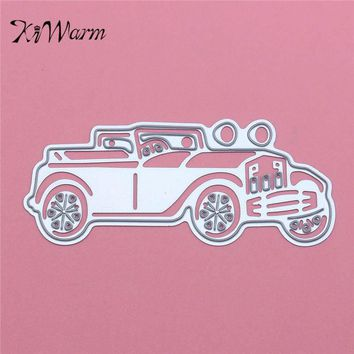 Car Paper Die Metal Cutting Dies For Scrapbooking DIY Handmade Wedding Halloween Cards Craft Dies Template