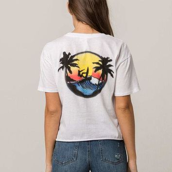 OTHERS FOLLOW Airbrush Womens Tee