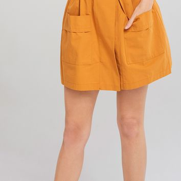 Elia Skirt Style Belt Shorts Discover the latest fashion trends online at storets.com