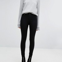 Cheap Monday Spray On High Waist Skinny Jeans at asos.com