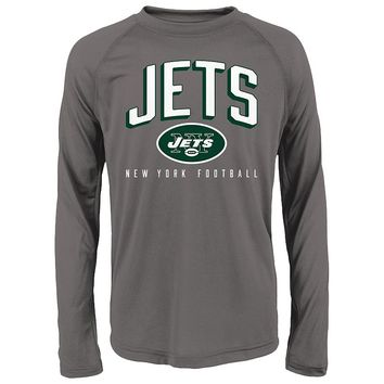 New York Jets Arch Heathered Tee - Boys 4-7