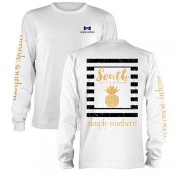 Simply Southern Prep Pine Long Sleeve T-Shirt
