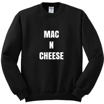 """Mac N Cheese"" Crewneck Sweatshirt"