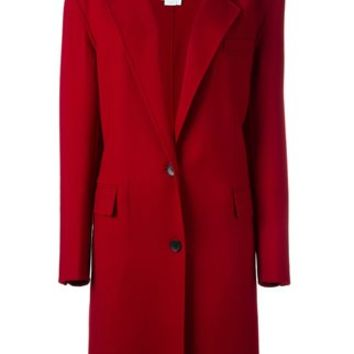 DKNY Single Breasted Coat - Farfetch