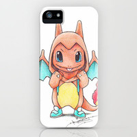 A Burning Passion iPhone & iPod Case by Randy C