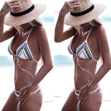 Hot Sexy Brazilian Bikini 2017 Swimwear Women Swimsuit Bathing Suit Push-Up Biquini Bikini Set Bandage Swim Suit Maillot