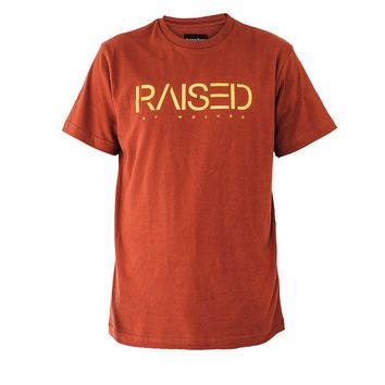 Raised by Wolves Spirit T-Shirt Brick Red