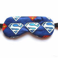 Sleep Mask Superman Travel Night Eye Shade Kid Superhero Boy Man Blindfold DC