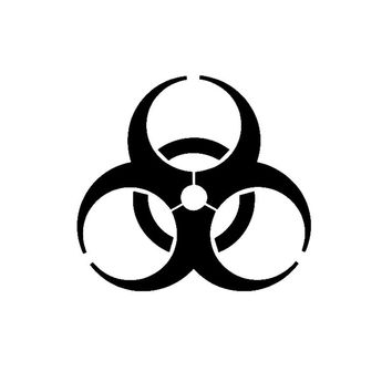 Zombie Outbreak Response Team Sticker Car Styling Decal Vinyl The Walking Dead Biohazard Jdm