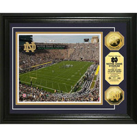 University of Notre Dame Stadium 24KT Gold Coin Photomint