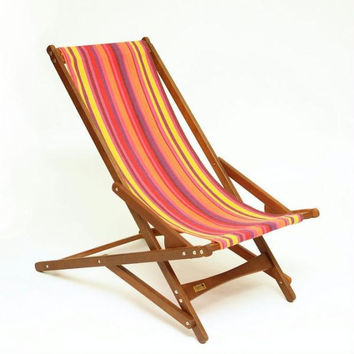 Folding Glider Chair - Inside Or Outside Use