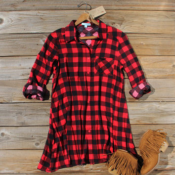 Bozeman Plaid Dress