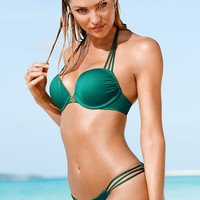 The Bombshell Add-2-Cups Push-Up Halter - Bombshell Swim Tops - Victoria's Secret