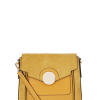 Accessorize | Megan Satchel Bag | Yellow | One Size | 5894399800