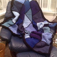 Basic Granny Square Patchwork Crochet Afghan