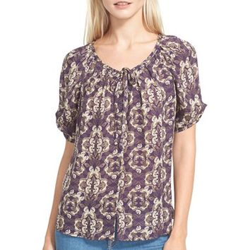 Women's Joie 'Berkeley' Print Silk Blouse,