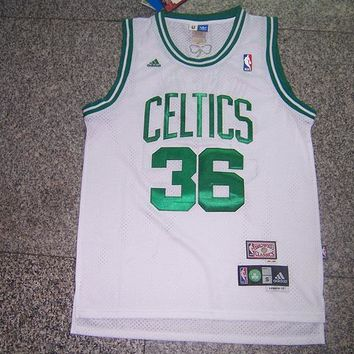Boston Celtics Shaquille O'Neal #36 White Jersey