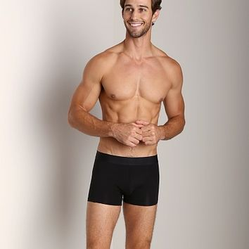 Calvin Klein Black Cotton Trunk Black U1741-001 at International Jock Underwear & Swimwear
