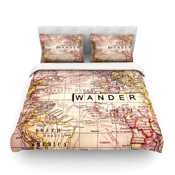 """Sylvia Cook """"Wander"""" Featherweight Duvet Cover"""