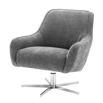 Grey Swivel Chair | Eichholtz Serena
