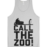 Call the Zoo-Unisex Silver Tank