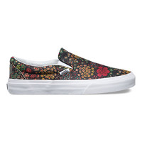 Floral Leather Slip-On | Shop at Vans
