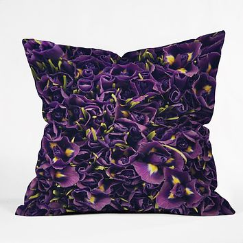 Catherine McDonald Flower Market 1 Throw Pillow