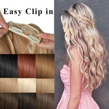 2017 Sexy Girl Curly Wave Clip in Hair extensions