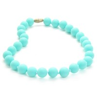 Chewbeads Jane Jr. Teething Necklace - Turquoise