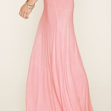 Ruched Maxi Skirt | Forever 21 - 2000221270