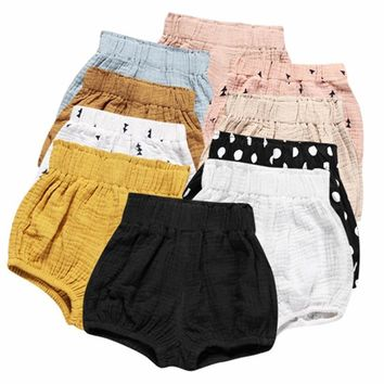 Callen's Cotton Linen Shorts