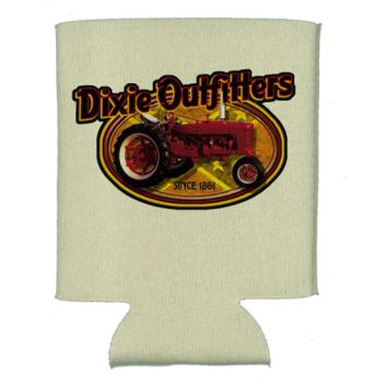 Red Tractor Can Koozie By Dixie Outfitters®