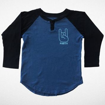 Like It's 1999 Raglan Henley