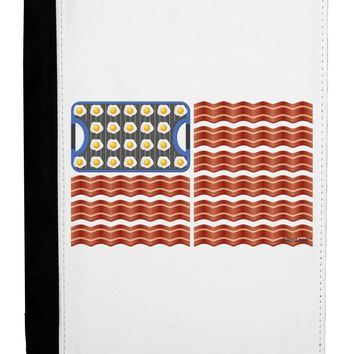 American Breakfast Flag - Bacon and Eggs Ipad Mini Fold Stand  Case by TooLoud